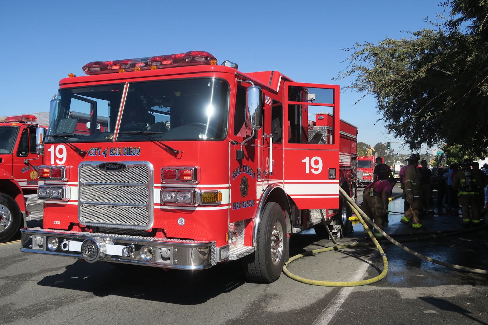 City of San Diego fire apparatus