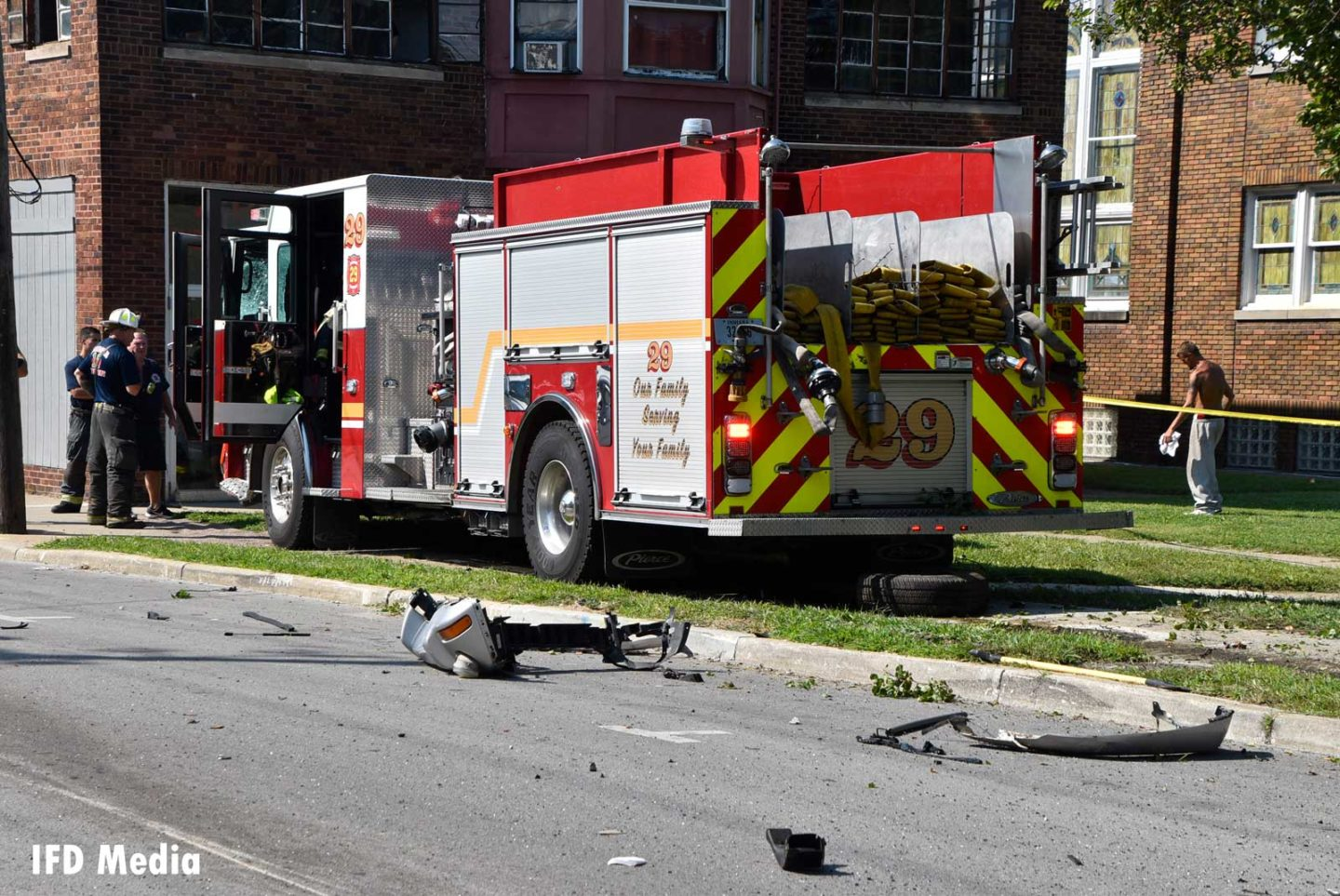 IFD Engine 29 after fatal collision