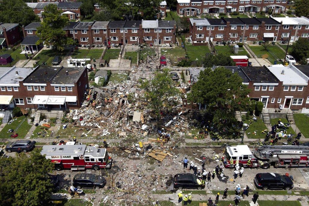 More Debris and rubble
