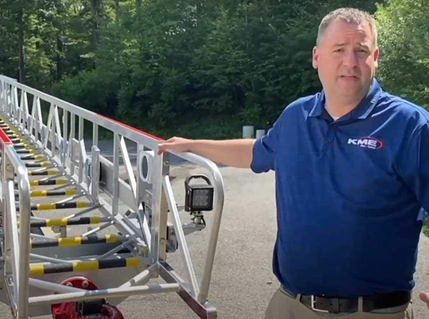 KME apparatus walk-around