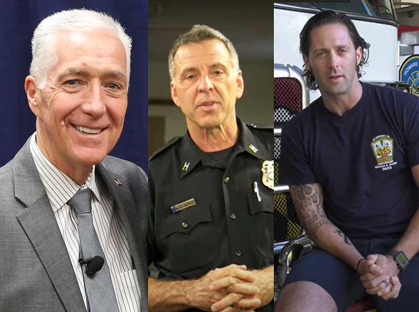 Bobby Halton, Kirk McKinzie, and Josh Burchick