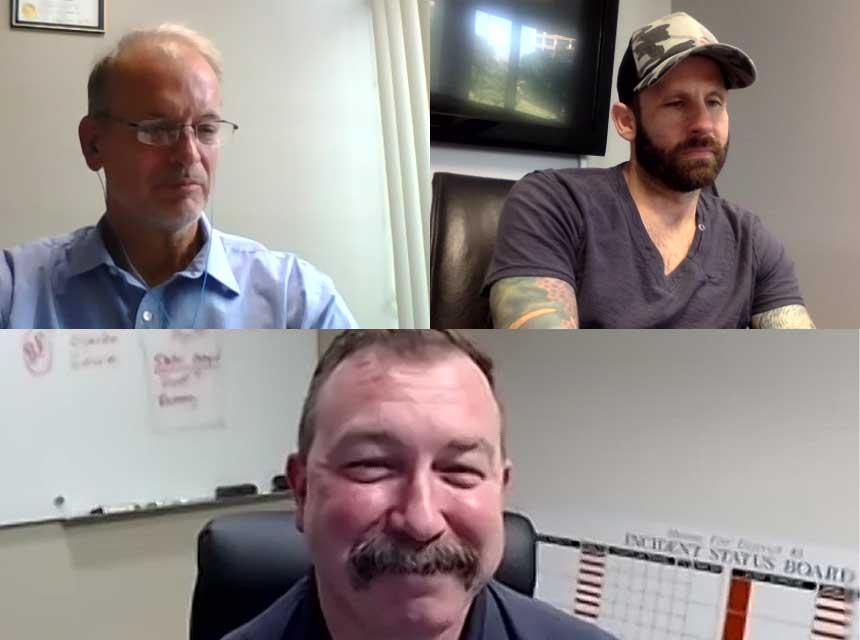Dan DeGryse, Ryan Parrott, and Robbie Fisher