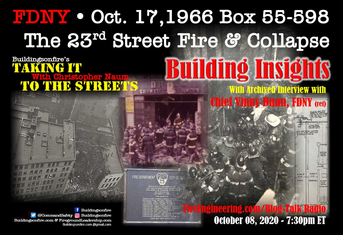 23rd Street Fire and Collapse