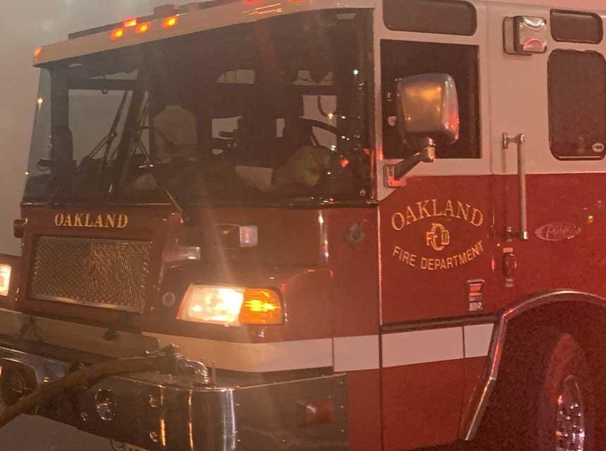 Oakland Fire Department apparatus