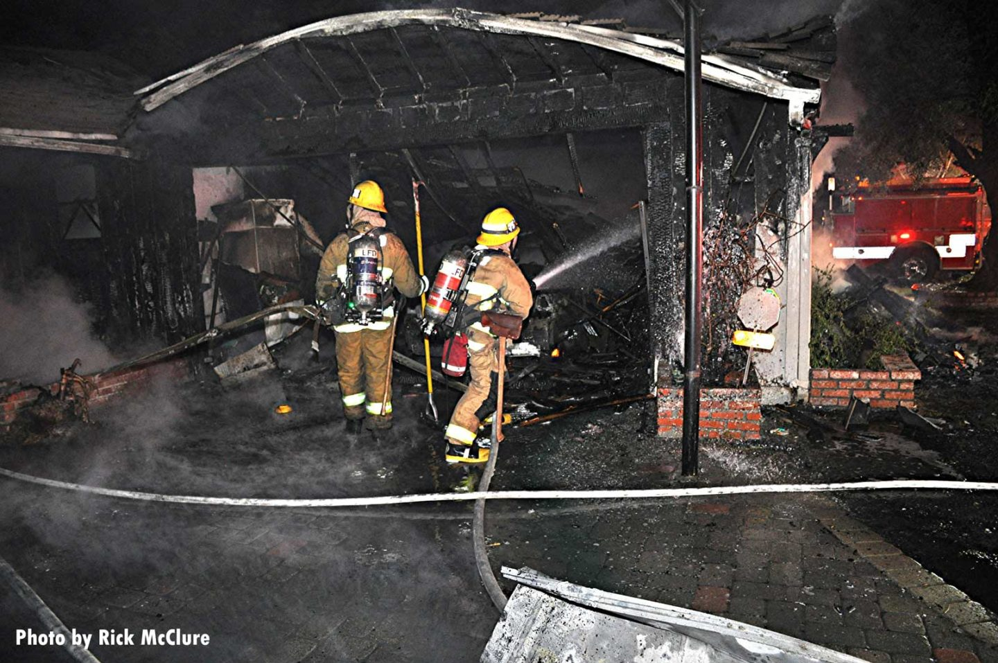 FIrefighters continue to hit hot spots in Los Angeles