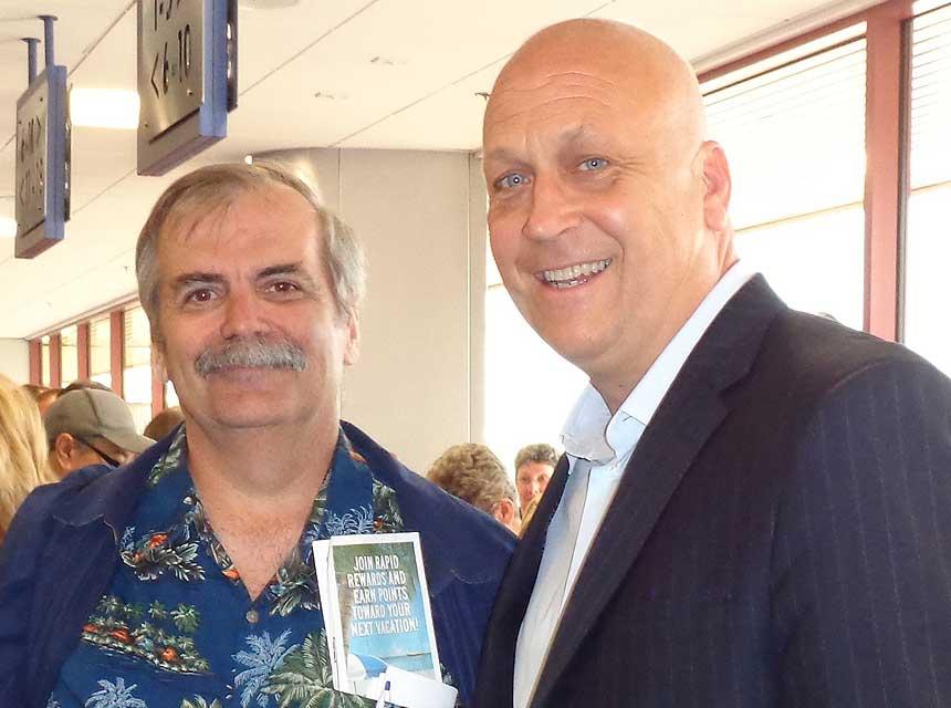 David Lewis and Cal Ripken Jr.