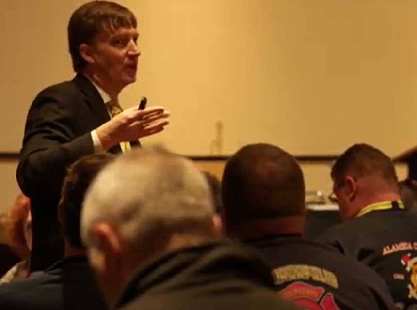 Graham Peaslee at FDIC International
