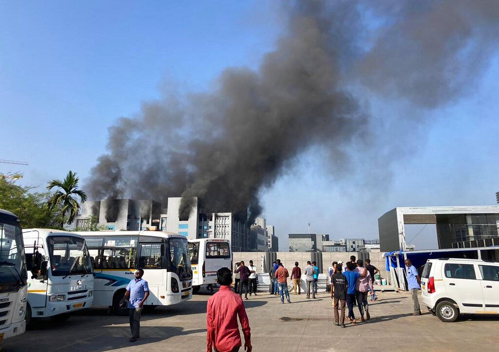 India COVID-19 manufacturer fire