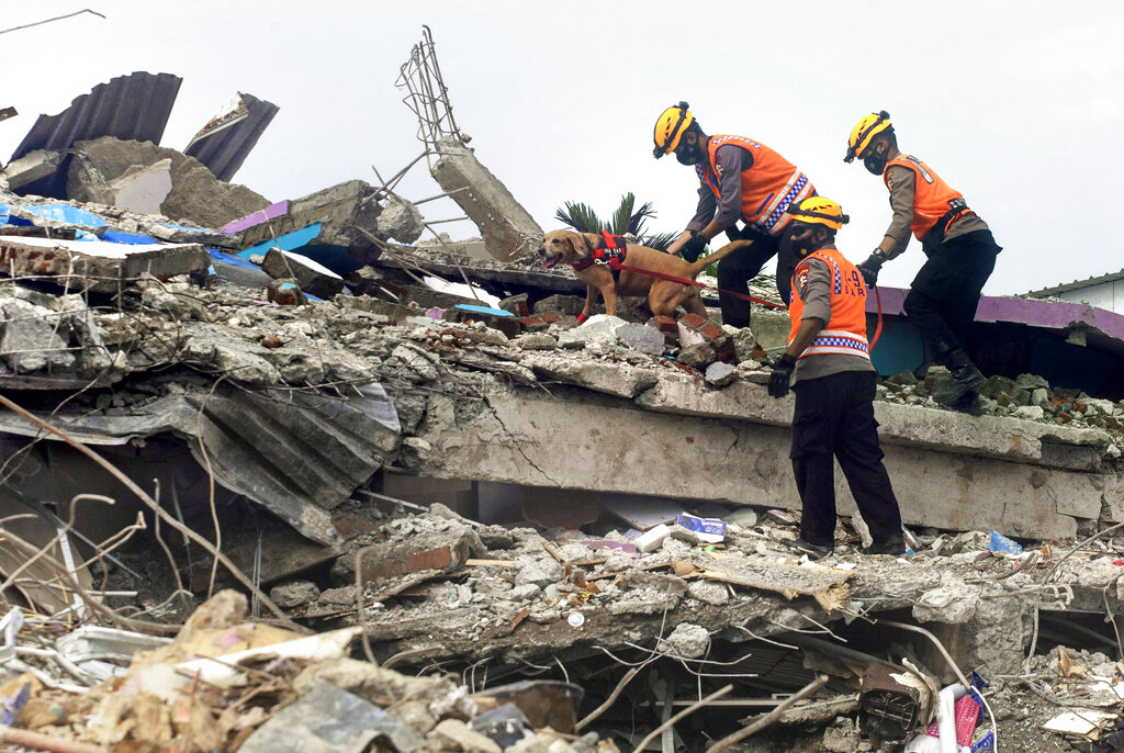 Indonesia quake rescue