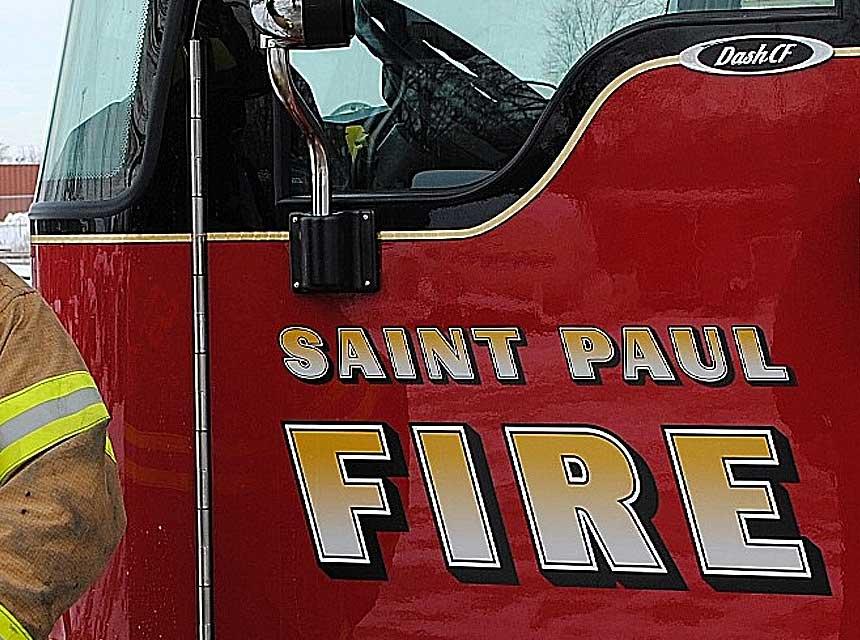 St Paul MN Fire Truck