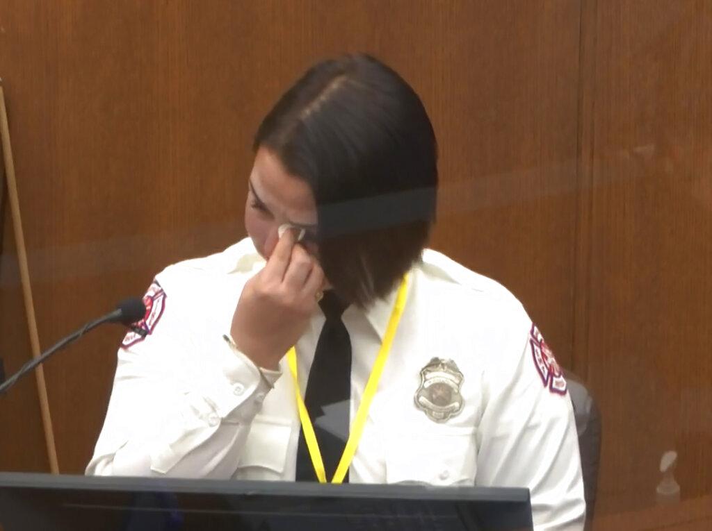 Minneapolis Firefighter Genevieve Hansen