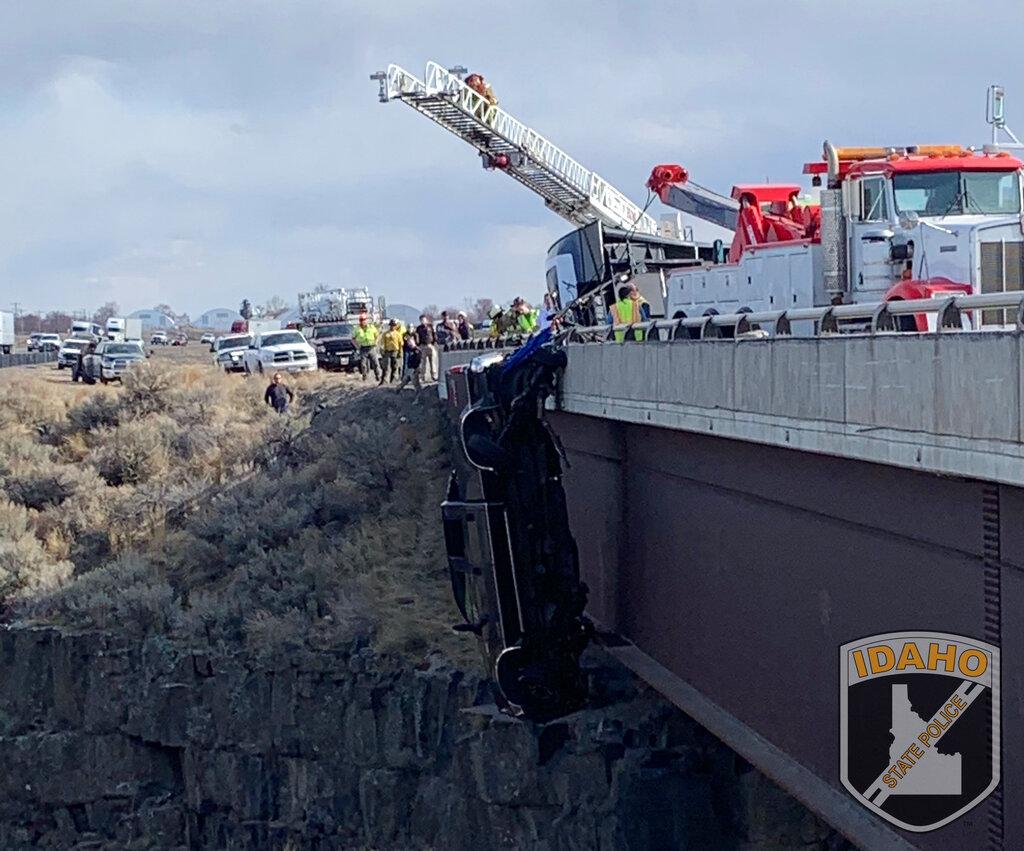 Idaho bridge rescue