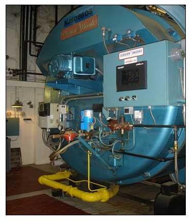 Large complex furnace