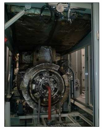 Jet turbine engine