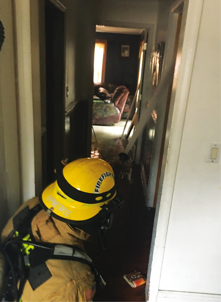 We can improve our most common skills such as hoseline management by drilling in homes that still contain furniture and other obstacles.