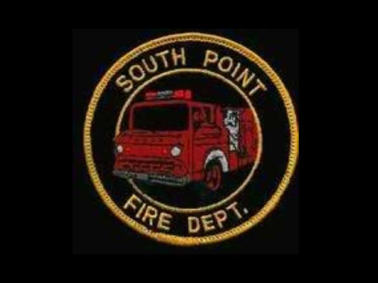 South Point Volunteer Fire Department Ohio