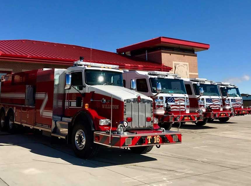Williston ND fire apparatus