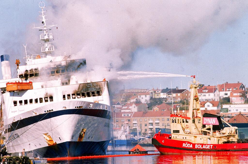 Denmark ferry fire