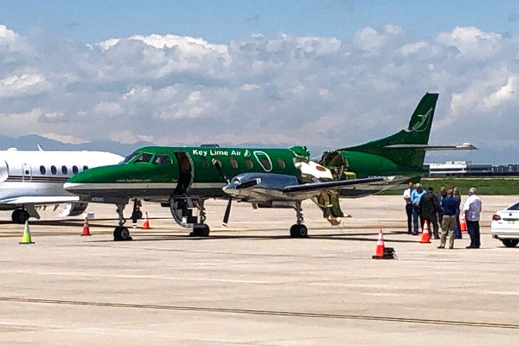 Denver airplane collision