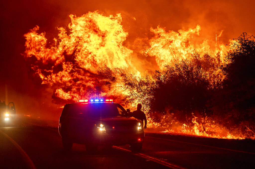 Oroville wildfire