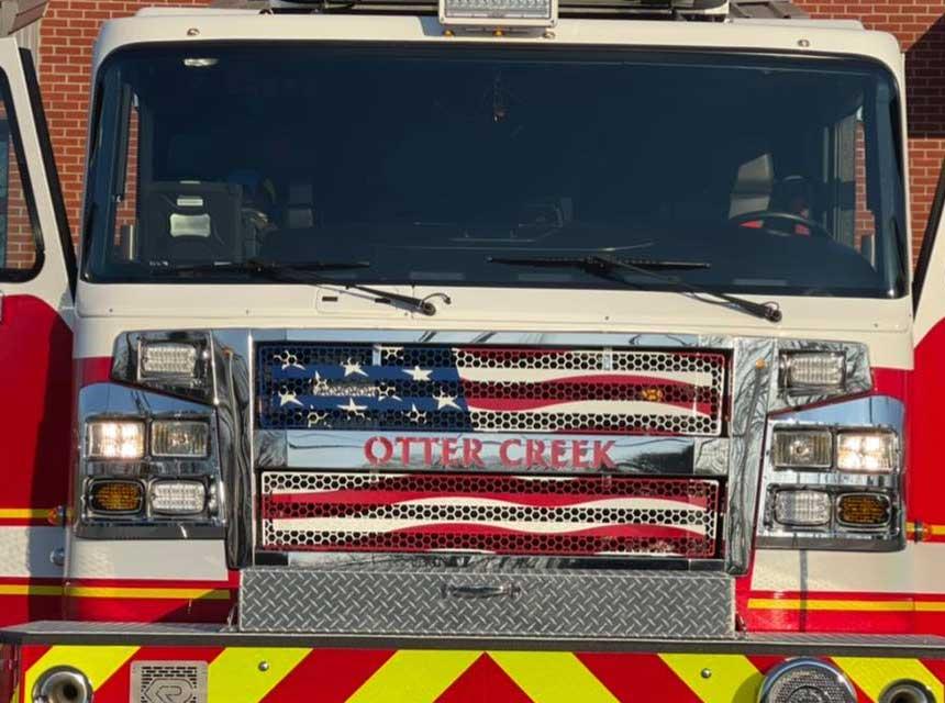 Otter Creek IN fire apparatus