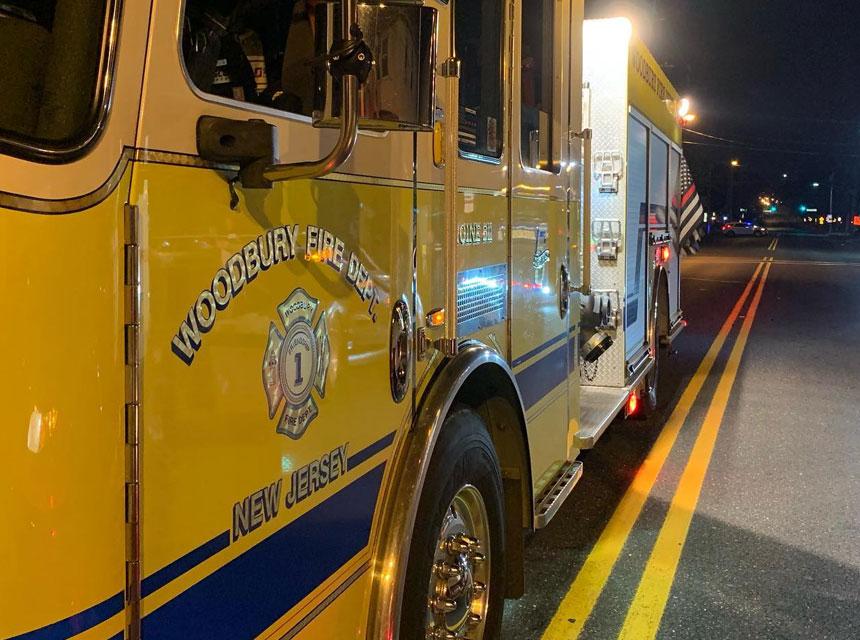Woodbury NJ Fire Truck