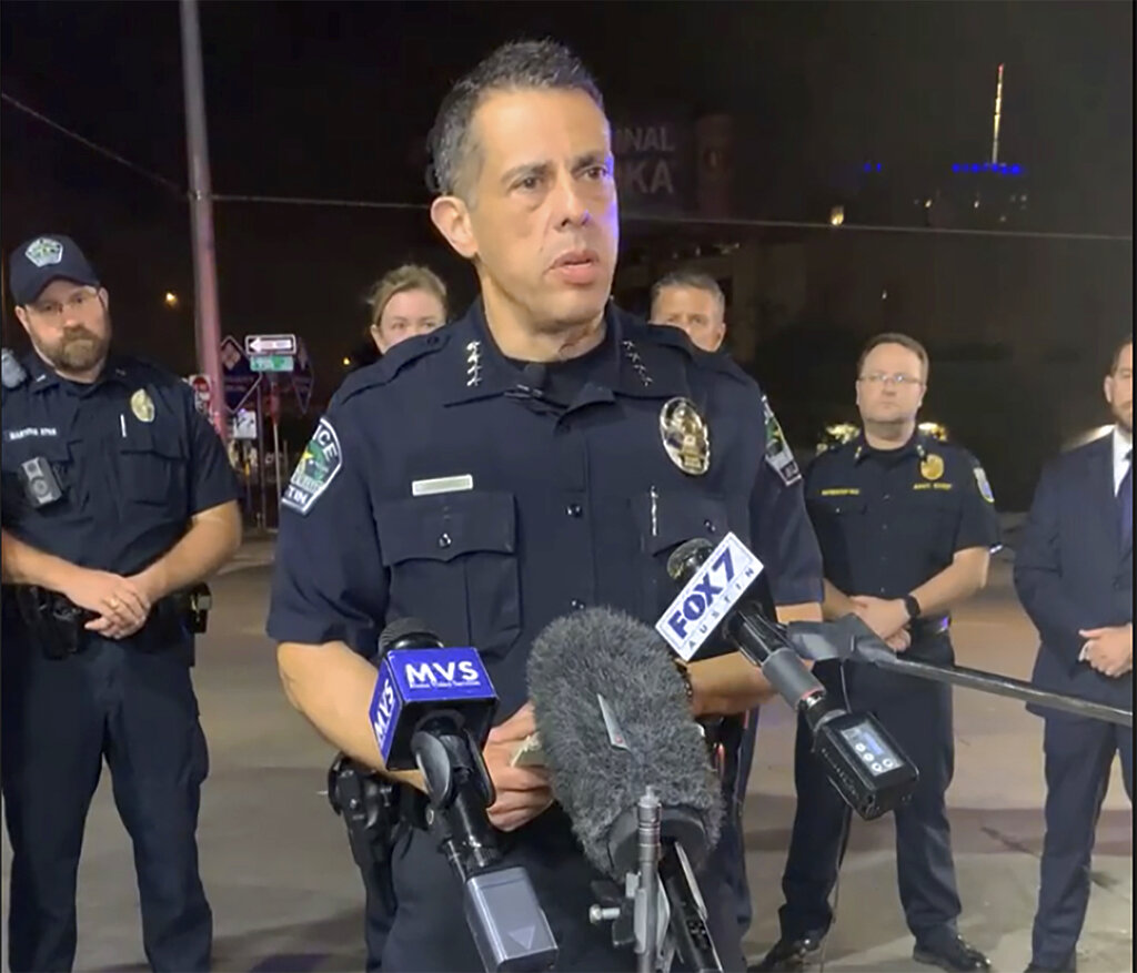Austin police chief on mass shooting