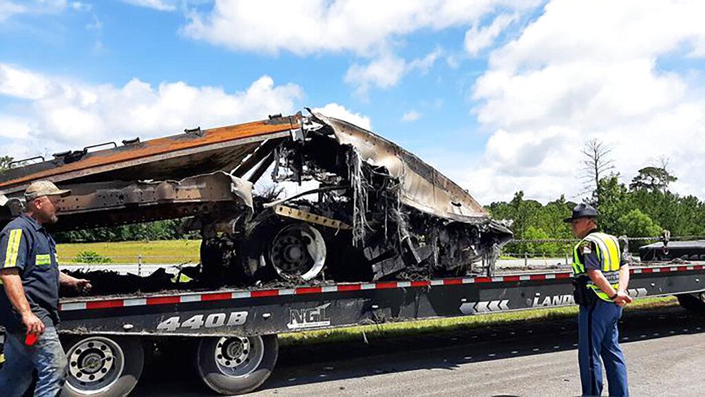 Fatal multiple vehicle crash after storms in Alabama