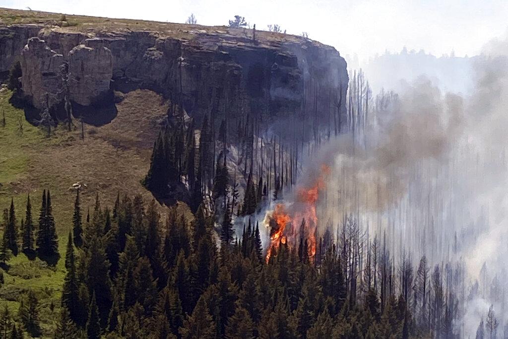 Montana wildfire
