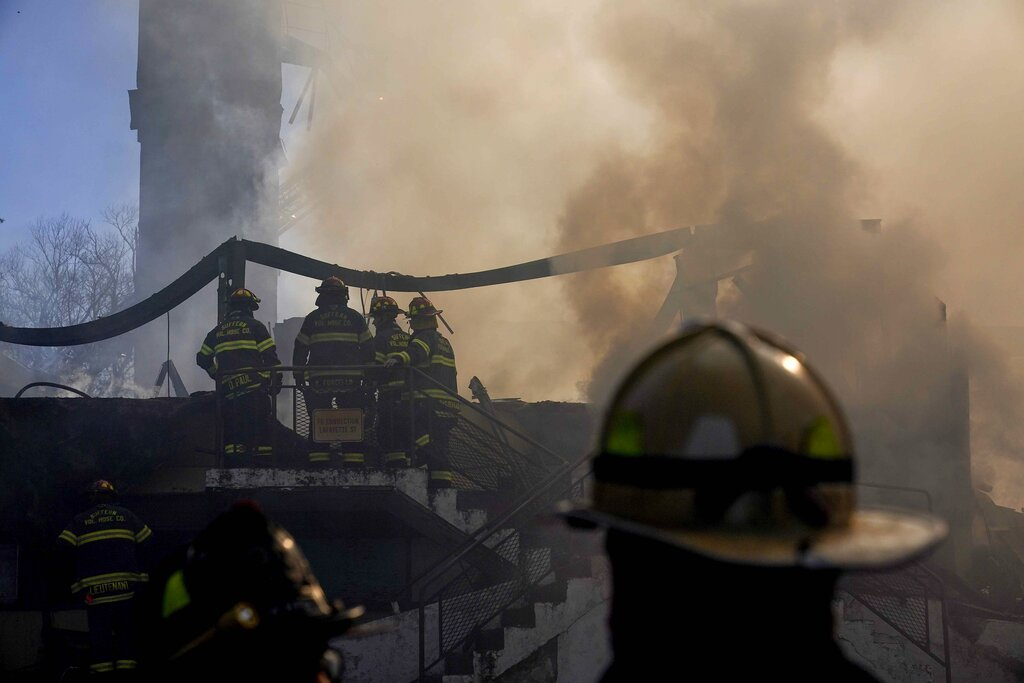 Firefighters at scene of fatal Spring Valley fire