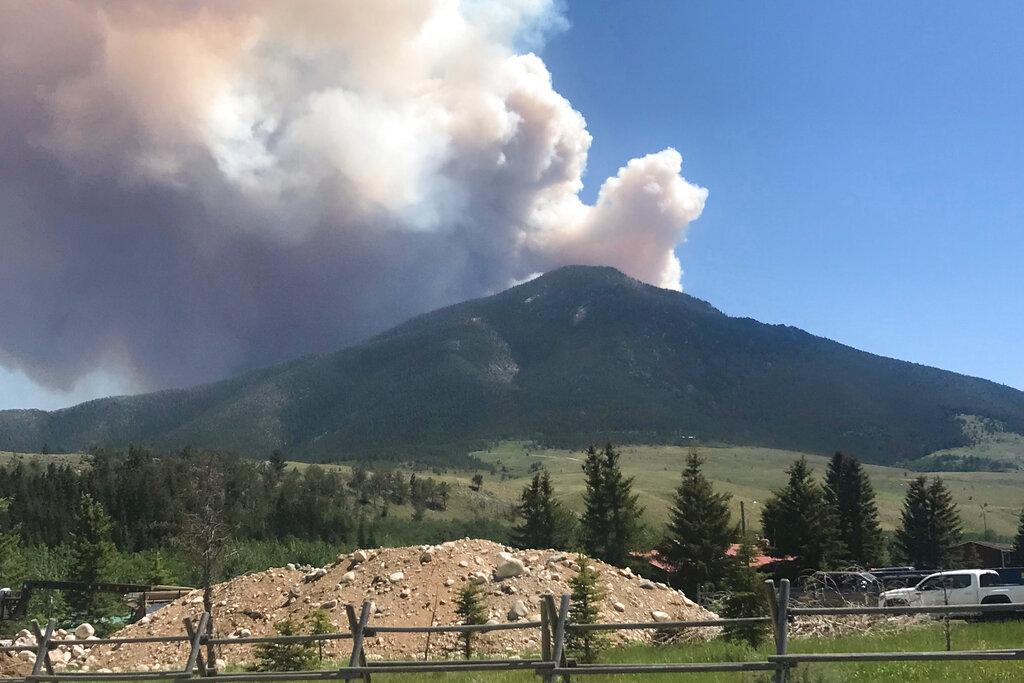 Robertson Draw fire in Montana