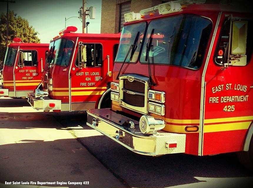 East St. Louis fire apparatus