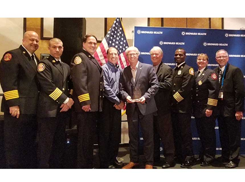 Todd LeDuc receives Lifetime Achievement Award