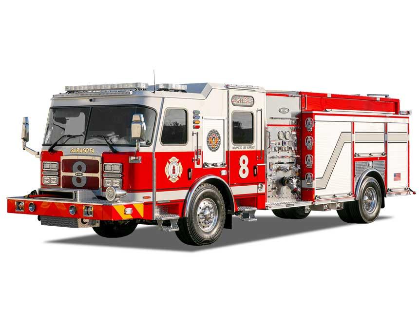 Sarasota County fire apparatus