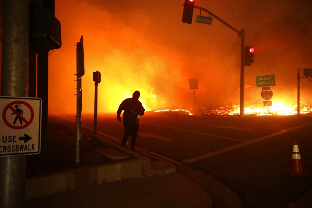 Saddleridge fire