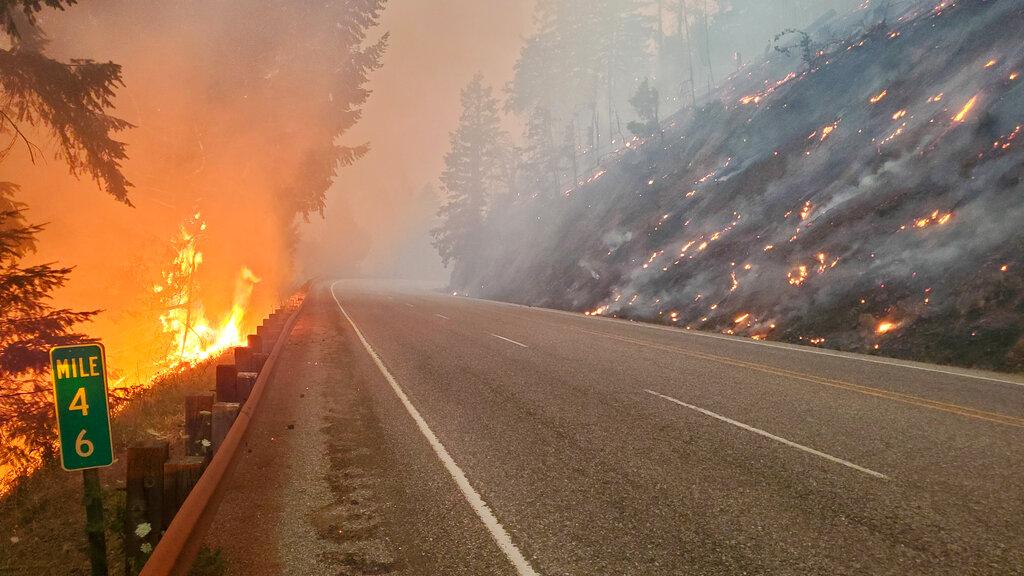 Bootleg fire in Oregon