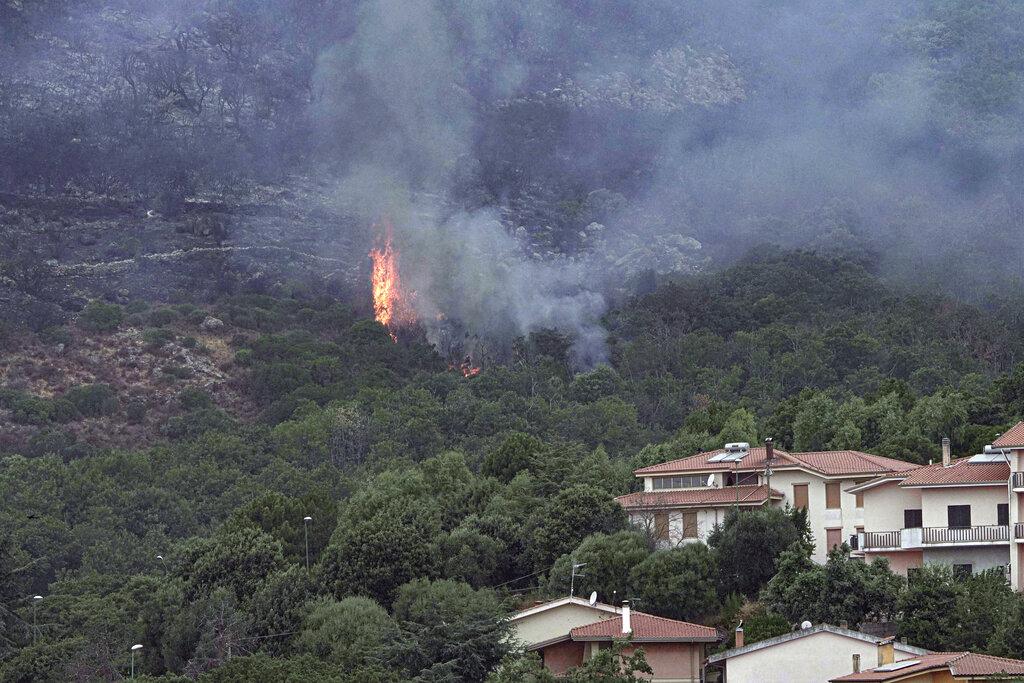 Sardinia wildfires