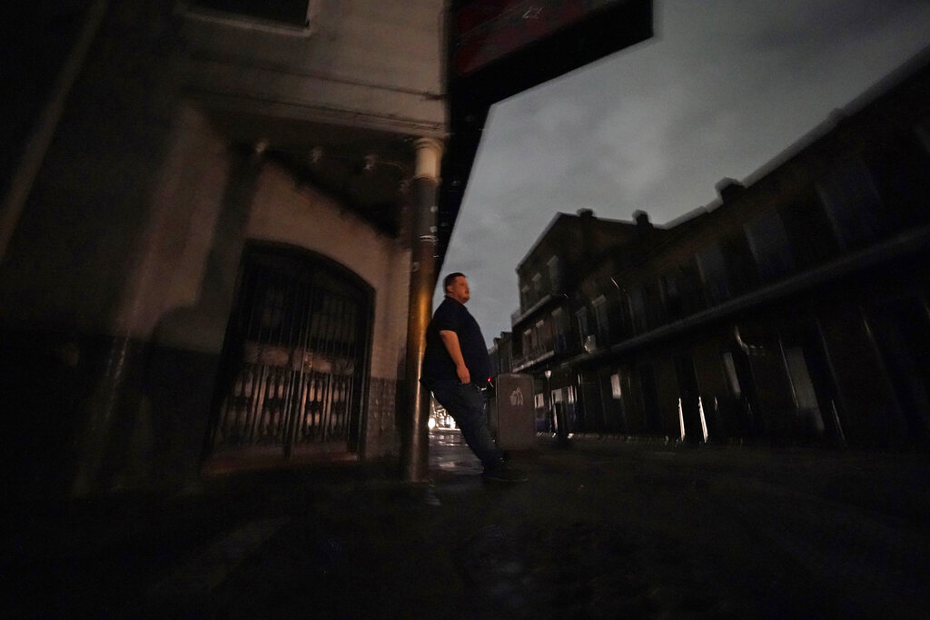 Power out in New Orleans