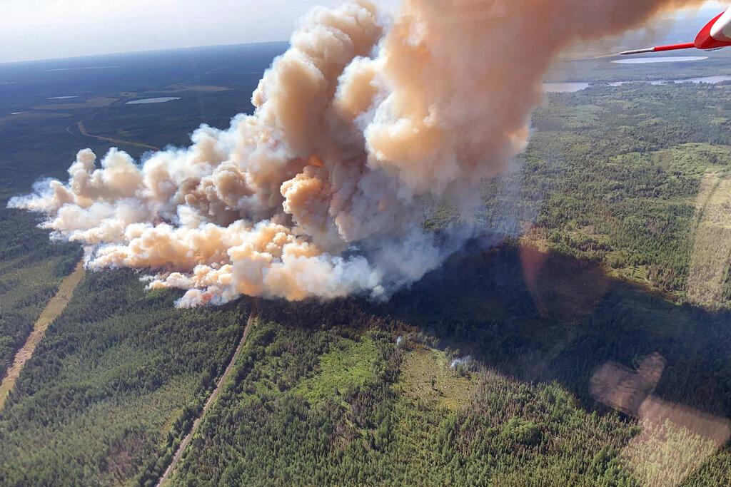 Minnesota wildfire