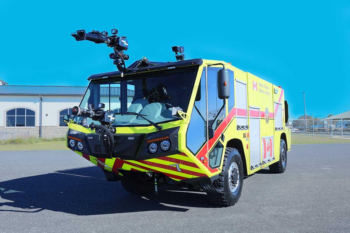 TITAN 4×4 Air Transportable ARFF vehicles