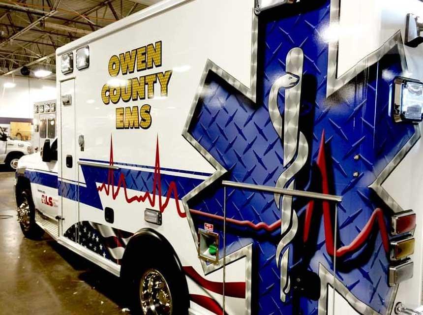 Owen County EMS, Spencer, Indiana