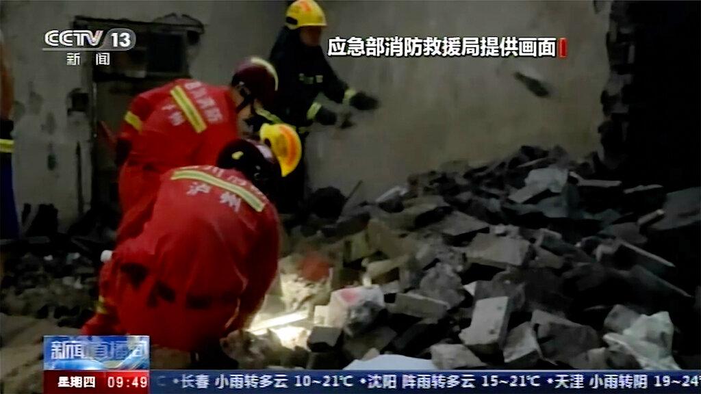 Fatal quake in China