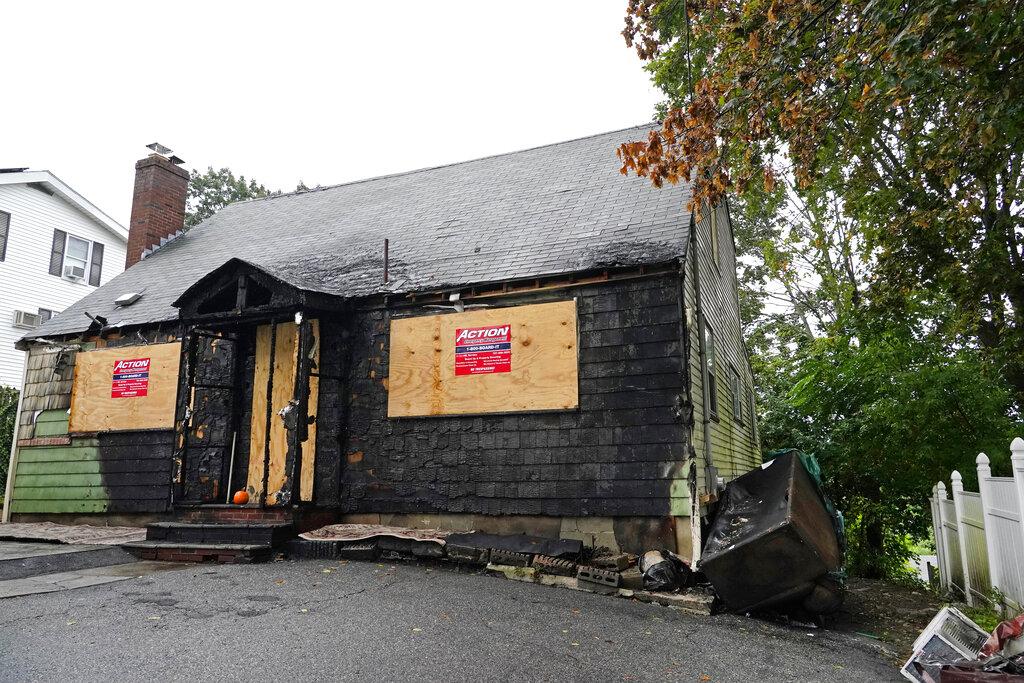 House fire in Massachusetts