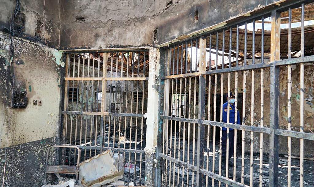 Indonesia prison fire