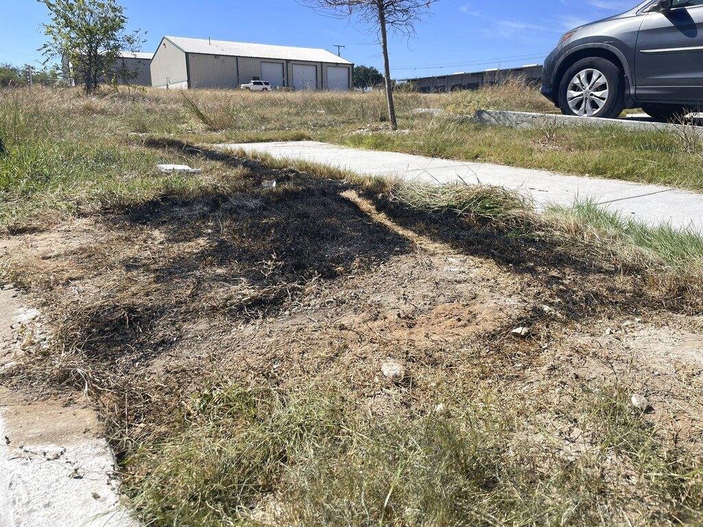 Texas dumpster fire