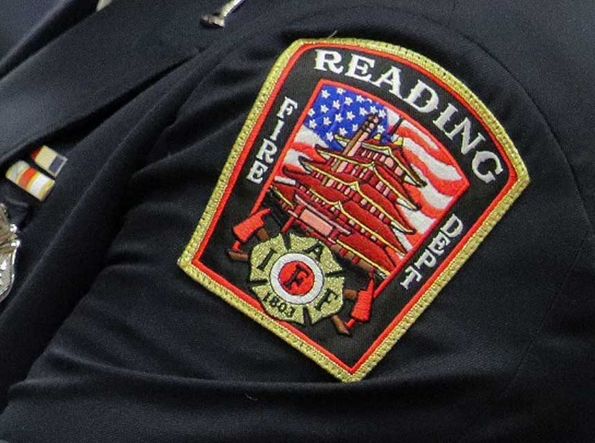 Reading PA Fire Department patch