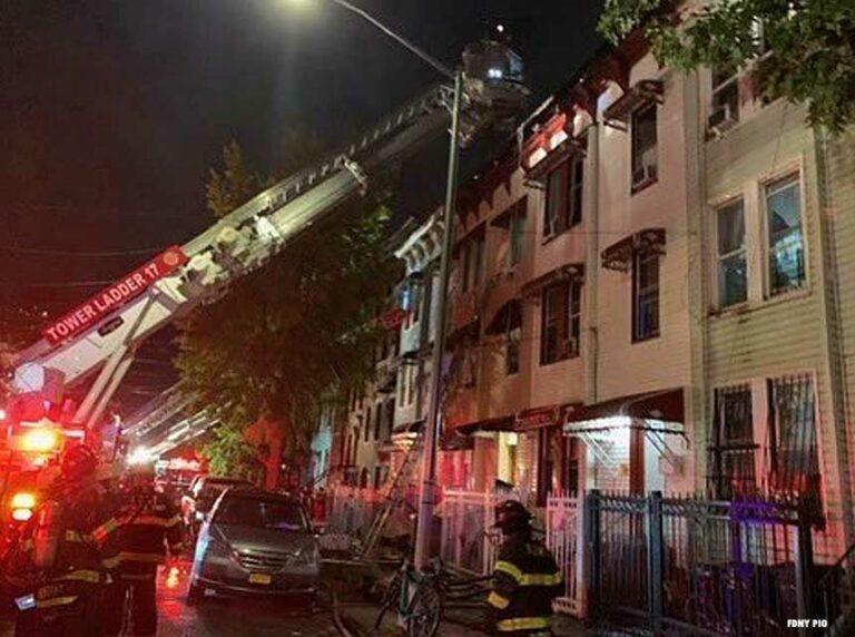 FDNY Crews Respond to Four-Alarm Bronx Fire