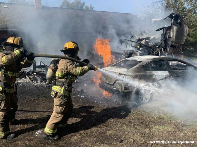 Two Injured in Fort Worth (TX) Fire