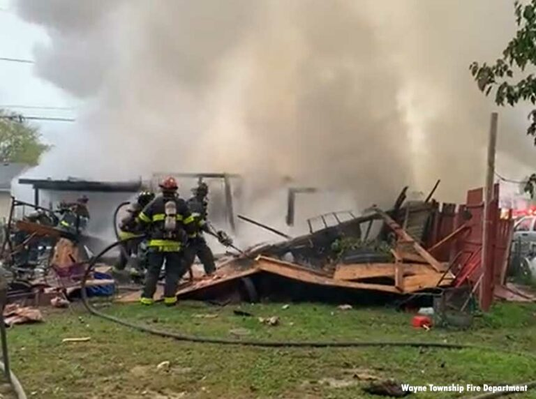 Firefighter, Civilians Injured in IN Explosion and Fire