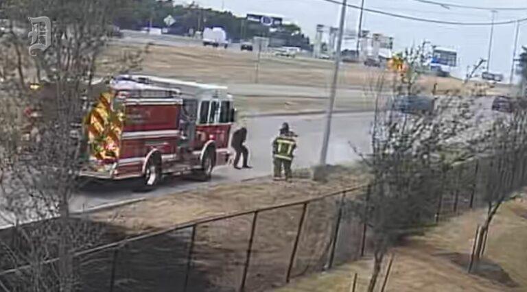 VIDEO: Dallas (TX) Fire-Rescue Paramedic Repeatedly Kicks Homeless Man